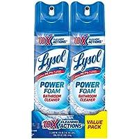 2-Pack Lysol Bathroom Cleaner Spray 48oz