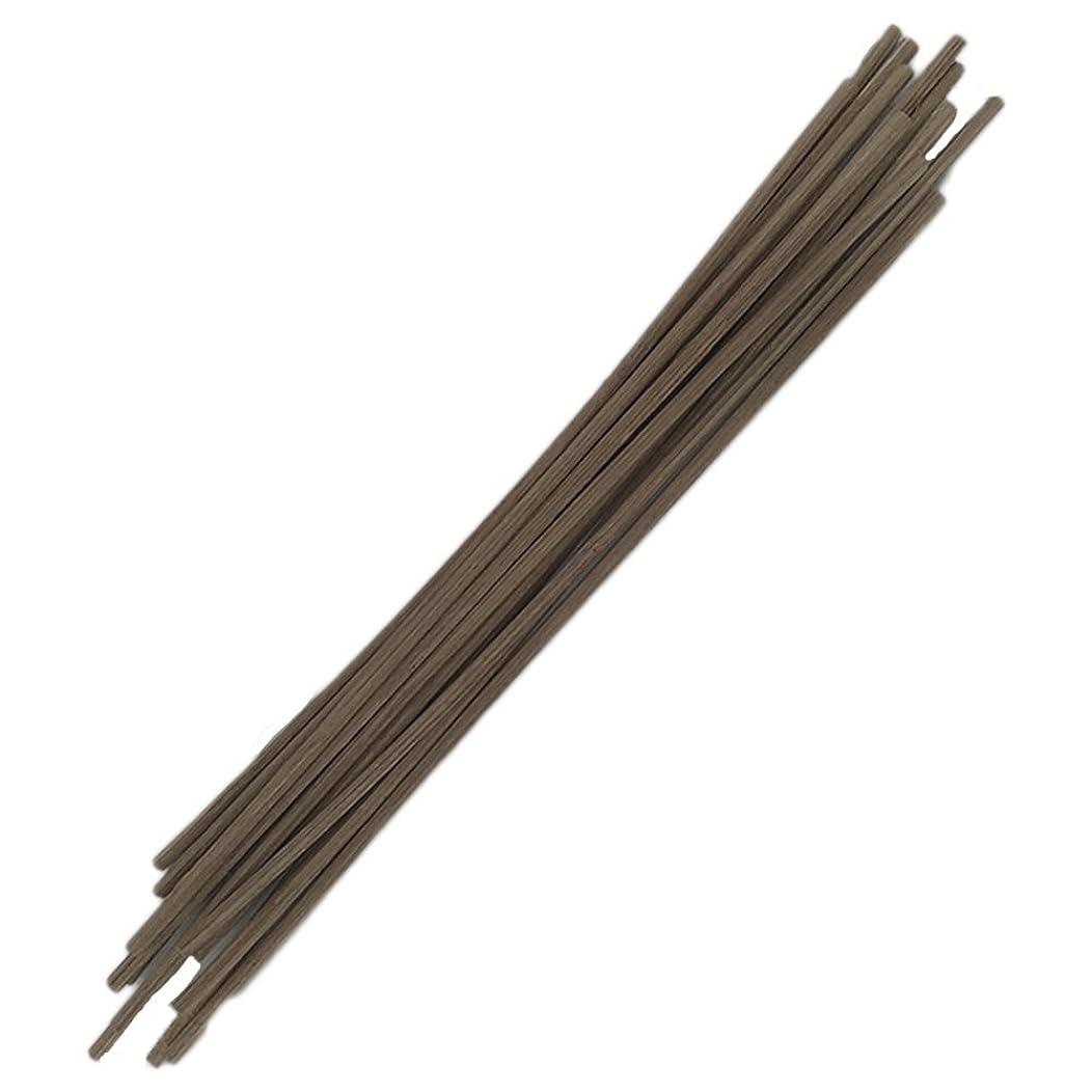 代数的絶望的な伝えるHEALIFTY 30pcs籐のリードは自然の香りのリードのディフューザーのアロマオイルディフューザー籐25センチメートルスティック