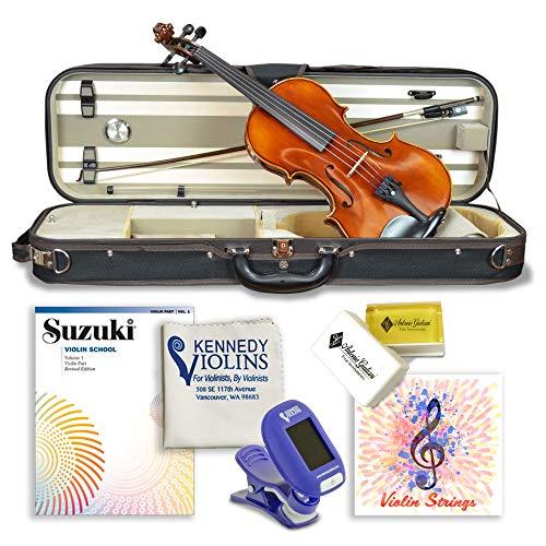 Louis Carpini G2 Clearance Violin Outfit 4/4 (Full) Size Carbon Fiber...