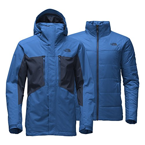 The North Face Clement Triclimate Jacket Men's Bomber Blue/Urban Navy X-Large