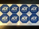 Authentic ADT Security Window Sticker Decals