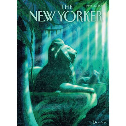 The New Yorker, May 23rd 2011 (Jane Mayer, Michael Specter, Hendrik Hertzberg) cover art