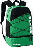 Erima 723342, Backpack Unisex, Smeraldo/Nero, 1