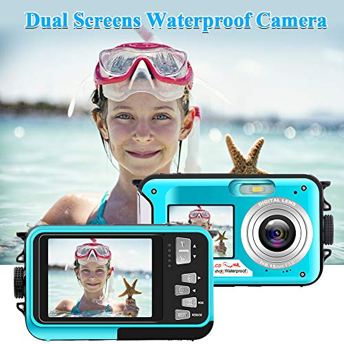 11% discount on an underwater digital camera with video recorder and dual screens