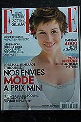 ELLE 3221 24 septembre 2007 Cécile de France Cover + 6 p. - M.Darrieusecq - Stacey Kent - le Perfecto - 214 p. Fashion Vintage