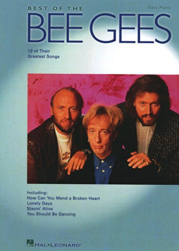 Best of the Bee Gees Songbook (Easy Piano (Hal Leonard)) (English Edition)