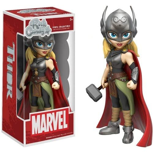 Funko- Rock Candy Marvel Lady Thor, 11700