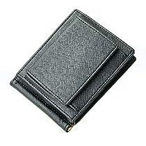 K-LUCE© マネークリップ ボックス型 小銭入れ付き メンズ 薄い二つ...