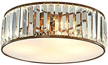 LED Modern Flush Mount Crystal Ceiling Lights Fixtures Chandelier Ceiling Lamps for Home Lighting Indoor Living Room Bedroom