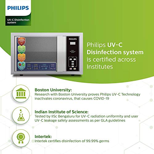 PHILIPS UV-C Disinfection System IISc/Boston University and Intertek Certified for Efficacy of Germs within Minutes, No leakage and Uniform Coverage Disinfection (30 L)