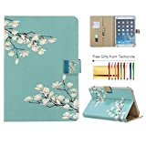 Universal Case for 7 Inch Tablet, Techcircle Folio Wallet Stand Magnetic Flip Leather
