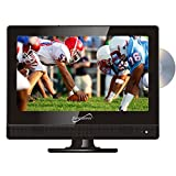 """Supersonic SC-1312 13.3"""" Widescreen LED HDTV with Built-in DVD Player"""