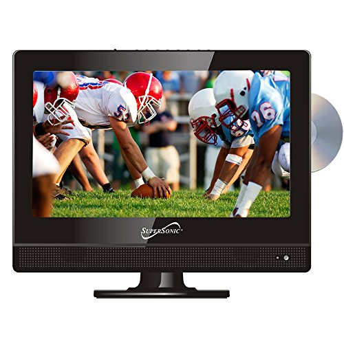 "Buy Discount Supersonic SC-1312 13.3"" Widescreen LED HDTV with Built-in DVD Player"