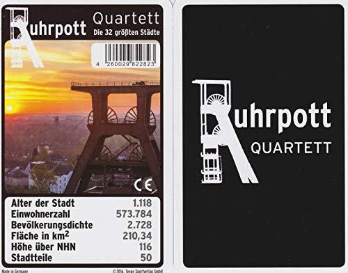 Teepe Verlag Ruhrpott (Ruhrgebiet, Kohlenpott) Quartett