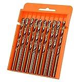 Brocas de la herramienta de perforación de la alta eficacia de la perforación para perforar los agujeros para la perforación del metal(7.5 10 per box/fully ground 4341)