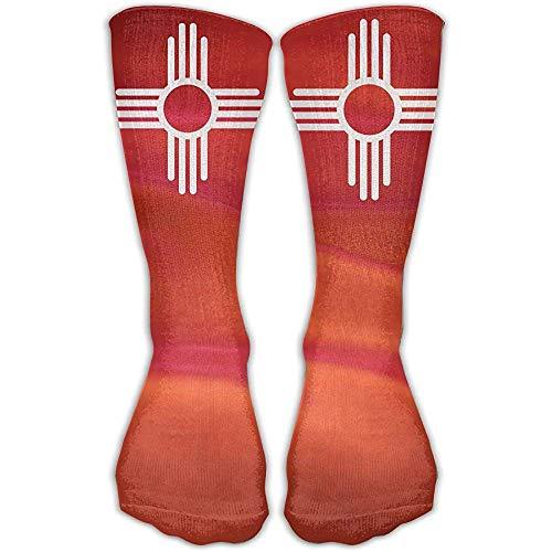 Gullanl New Mexico Sun symbool Beste sportieve high-performance hardloopsokken voor mannen en vrouwen