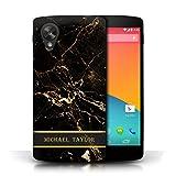 Stuff4 Personalised Custom Marble Case for LG Google Nexus