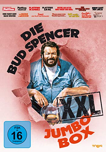 Die Bud Spencer Jumbo Box XXL (14 Discs)