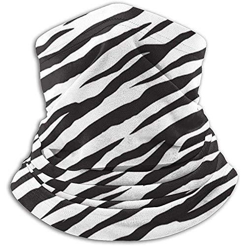 air kong Schal Zebra Stripes Neck Gaiter Magic Stirnband Balaclava Hood Unisex Maske Bandana Winter Warm Headwear