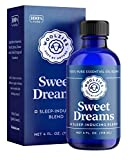 Woolzies Sweet Dreams Essential Oil Blend | Helps Sleep Better Faster Restful | Undiluted Therapeutic Grade (Sweet Dreams, 4 Oz)