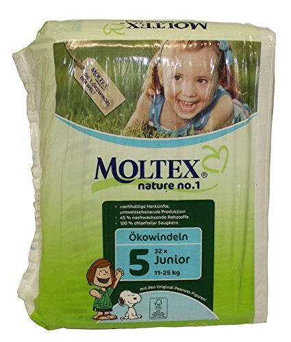 Moltex couches Junior N ° 5, 11–25 kg Lot de 32