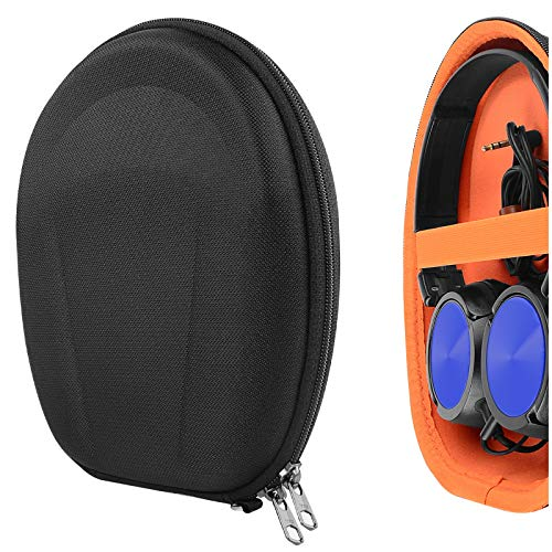 Geekria UltraShell Headphone Hülle for Sony WH-XB700, WH-CH510, WH-CH500, XB950BT, XB950N1, XB950B1, XB650BT Headphones, Replacement Protective Hard Shell Travel Carrying Bag