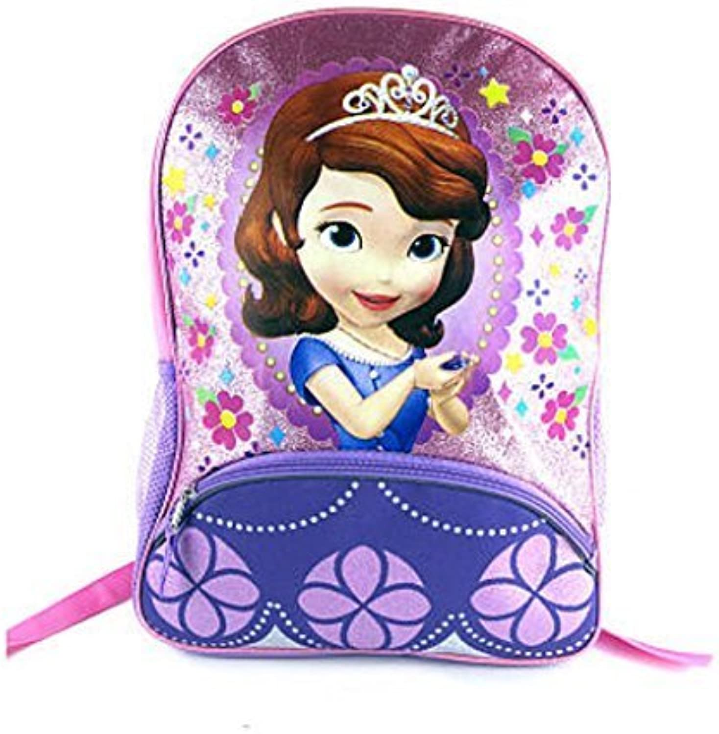 Disney Sofia The First Pink and Purple 16 inch Backpack by Fast Forward