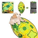 Sunshine smile Hund schnüffelteppich intelligenzspielzeug,Schnüffelrasen Hundespielzeug Fördert...