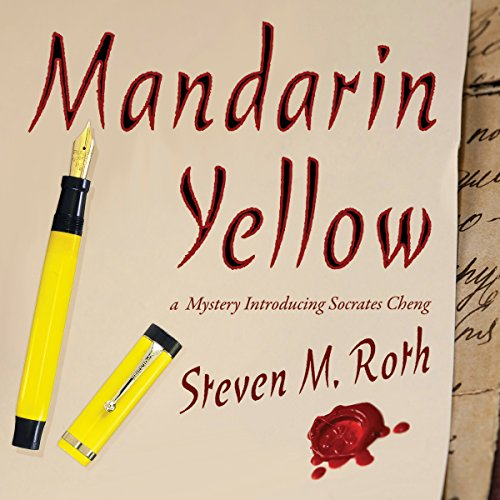 Mandarin Yellow audiobook cover art
