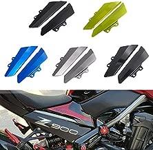 Romsion Accesorios de Vehiculos Marco de la Placa de la Licencia de Motorsports con luz Compatible para Kawasaki NINJA250 400 Z900 z650