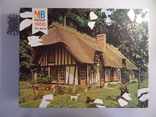 MB Puzzle - Serie Oxford: Landhaus in der Normandie [Puzzle, 1500 Teile].