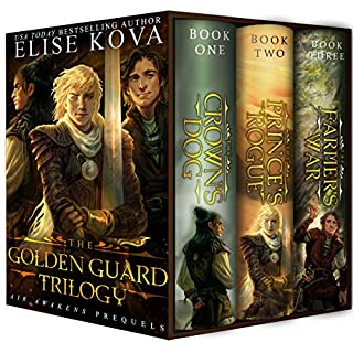 The Golden Guard Trilogy audiobook cover art