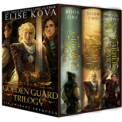 Couverture de The Golden Guard Trilogy