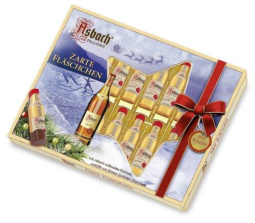 Asbach-Pralinen Weihnachtsfläschchen, 1er Pack (1 x 250 g)
