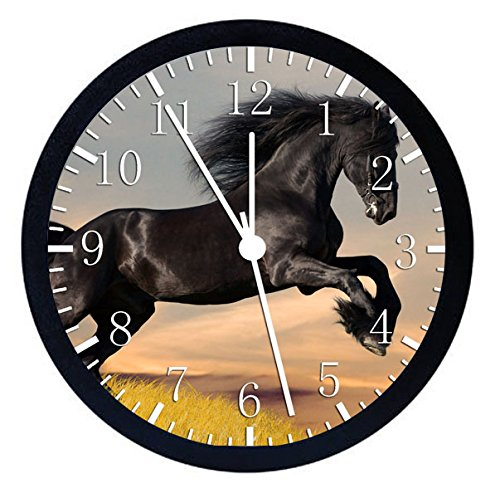Black Horse Wall Clock 12