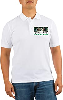 Wrestling It's in My Blood Golf Shirt Golf Polo