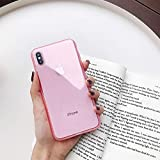1 piece Boucho Candy Colors Transparent Case For iphone X XS MAX XR 8plus 7plus Soft TPU Phone Cases For iphone 6 6s 7 8 Plus Back Cover