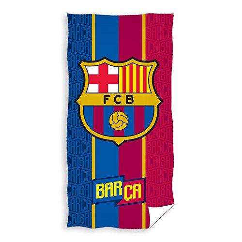 Mercury FC Barcelona Badetuch, Baumwolle, Marineblau, 12x 22x 35cm