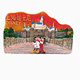 Calamita da frigorifero 3D Disney of Shanghai China da viaggio souvenir regalo casa cucina frigorifero decorazione adesivo magnetico Craft Collection