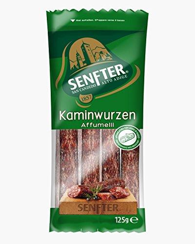 Südtiroler Kaminwurzen Senfter 2 Stück - 125 gr.