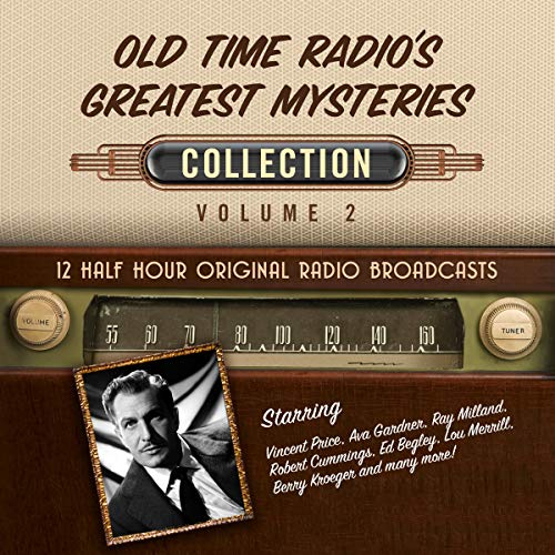 Old Time Radio's Greatest Mysteries, Collection 2 cover art