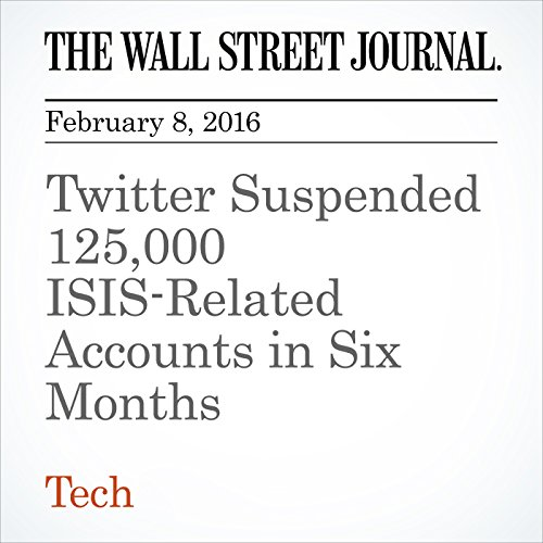 Twitter Suspended 125,000 ISIS-Related Accounts in Six Months cover art