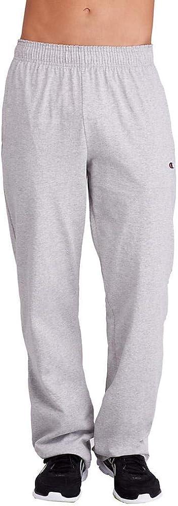 Manufacturer NEW OFFicial shop Champion Men's Open Bottom Lightweight Pant Jersey