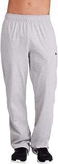 سروال رياضي من قماش جورسيه خفيف الوزن بحاشية واسعة من الاسفل للرجال من شامبيون