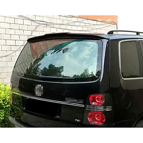 WXQYR 1pc/set ABS Car trunk trunk air separator tail spoiler rear window roof spoiler for touran spoiler 2004-2016