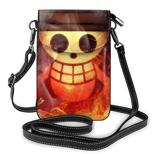 Una pieza ligera pequeña Crossbody bolsos cuero teléfono celular monederos bolsa de viaje bolsa de hombro cartera