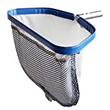 POOLWHALE Pool Leaf Rake with Double Layer...