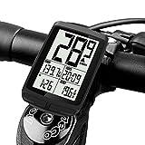 サイクルコンピュータ 2021革新技術Flagicon 自転車コンピューター ワイヤレス スピードメーター 大画面表示 自動電源ON/OFF 多機能 LCD防水 バックライト 簡単取付 走行距離計 日本語説明書付き (進化版)