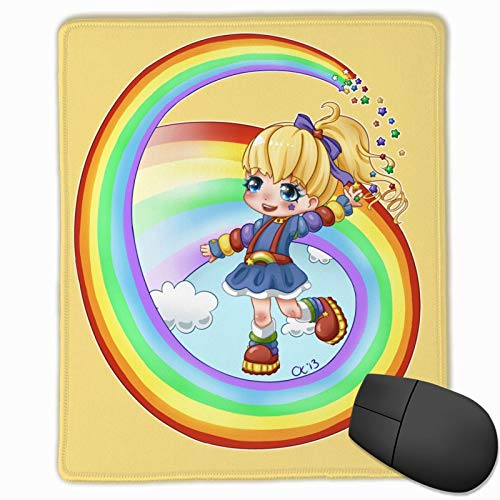 R-Ain-Bow B-Rite Large Mouse Pad Speed Locking Edge Keyboards Mat Rubber Gaming Mouse Pad Desk Mat