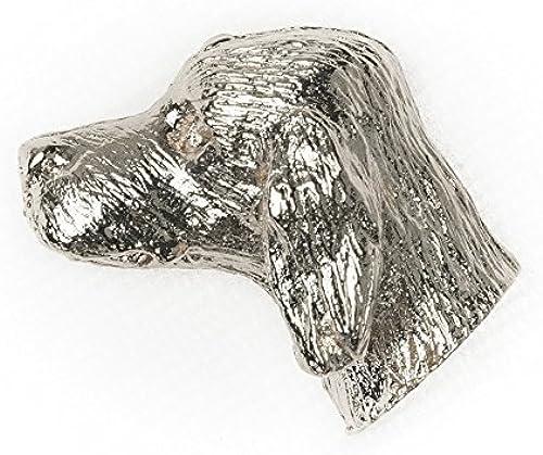 servicio de primera clase ENGLISH SETTER SETTER SETTER Made in U.K Artistic Style Dog Clutch Lapel Pin Collection by DOG ARTS JP  lo último